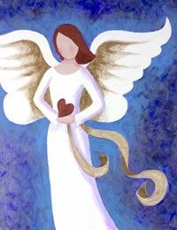 Angel of Love- Canvas Design Pattern Pack