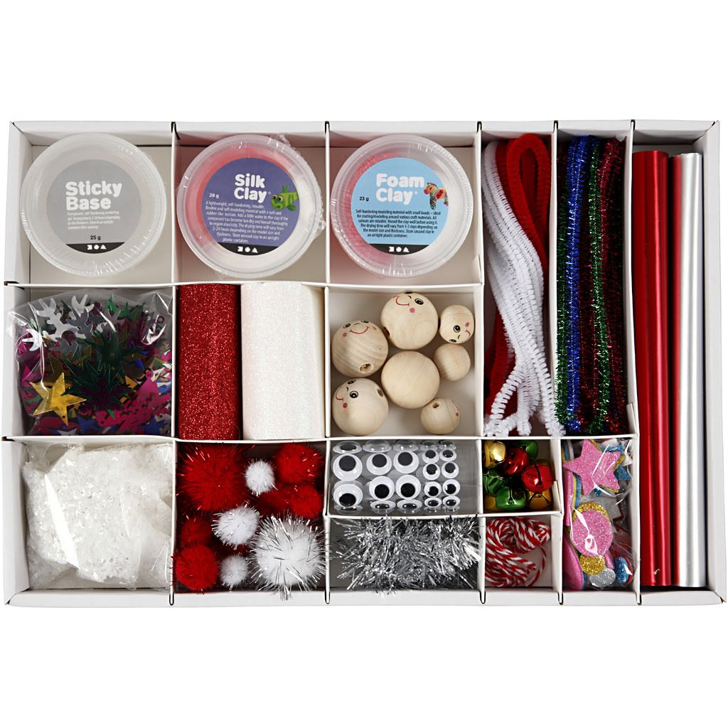 Magical Christmas Creative Craft Gift Box 54451 contents unboxed
