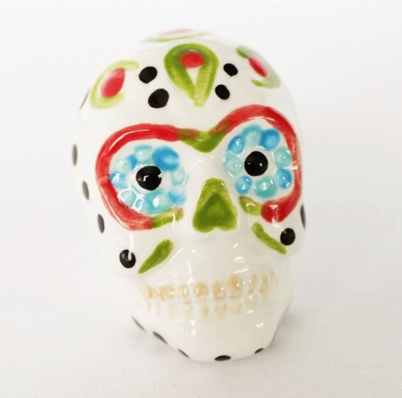 Sugar Skull Tiny Topper