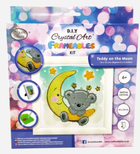 Koala - Frameable Crystal Art Kit 16cm