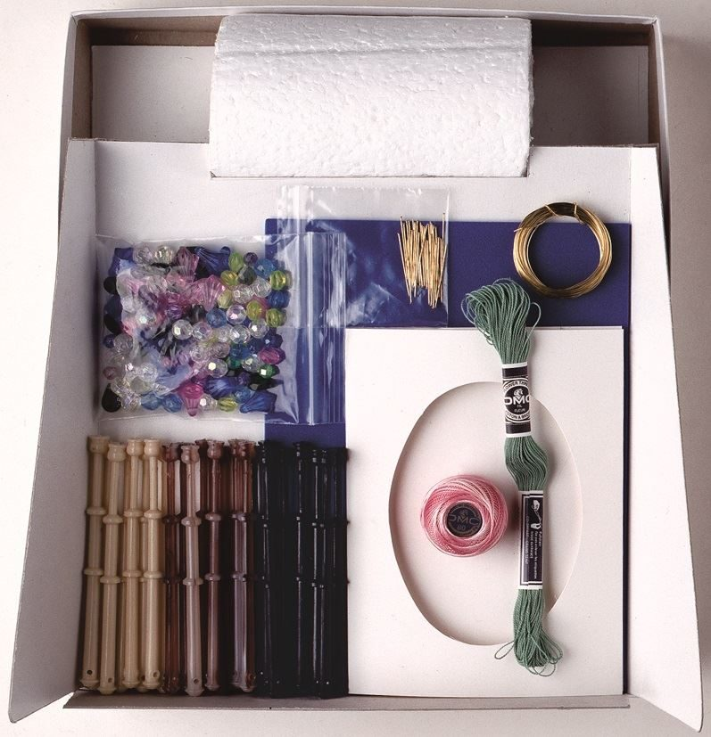 Lacemaking Craft Kit contents (2)