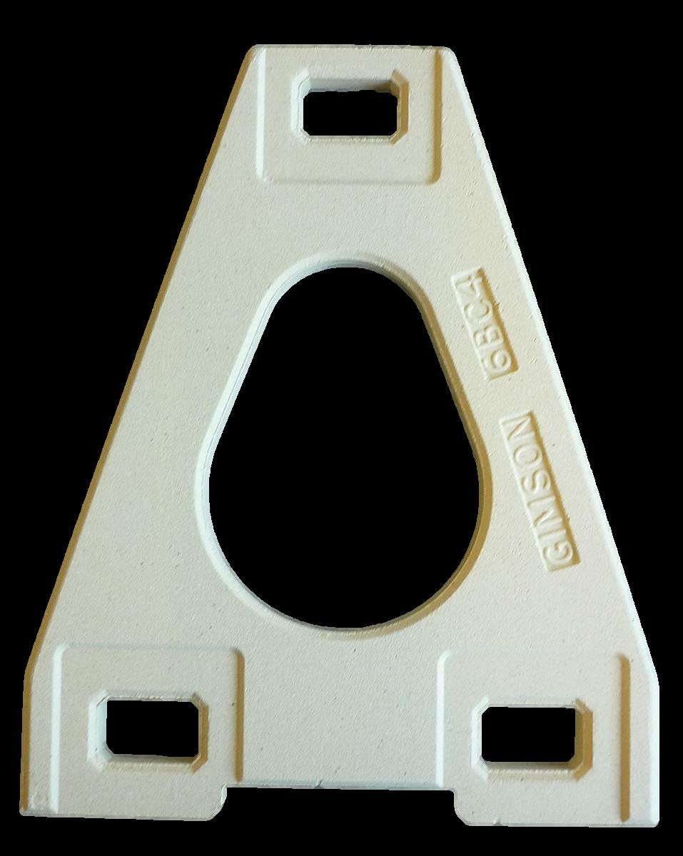Tile Crank Base or Cover for 6 Inch Tile