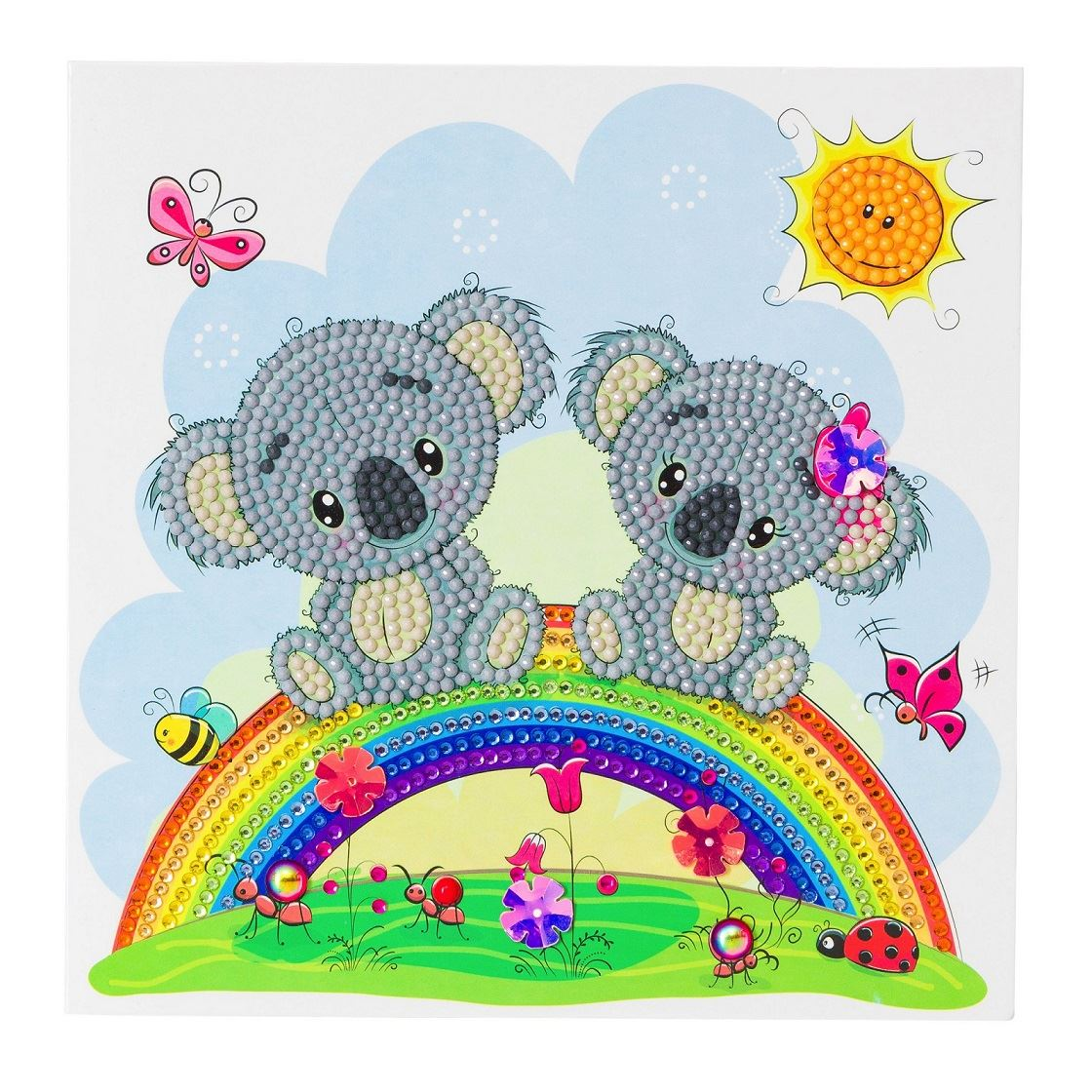 CCK-A47 Koala Rainbow Crystal Art Kit