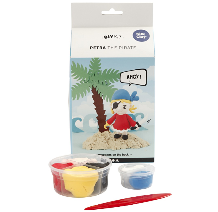 CH100746 Petra the Pirate Silk Clay Kit