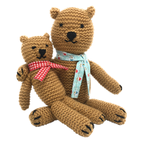 Knitted Teddies Knitting Kit