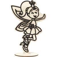 CH791953 Fairy Wooden Figure