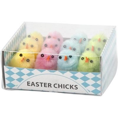 CH51655 Easter Chicks Easter Decoration Crafts, in pack