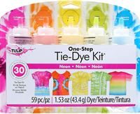 Tulip® Neon One-Step 5 Colour Tie Dye Kit