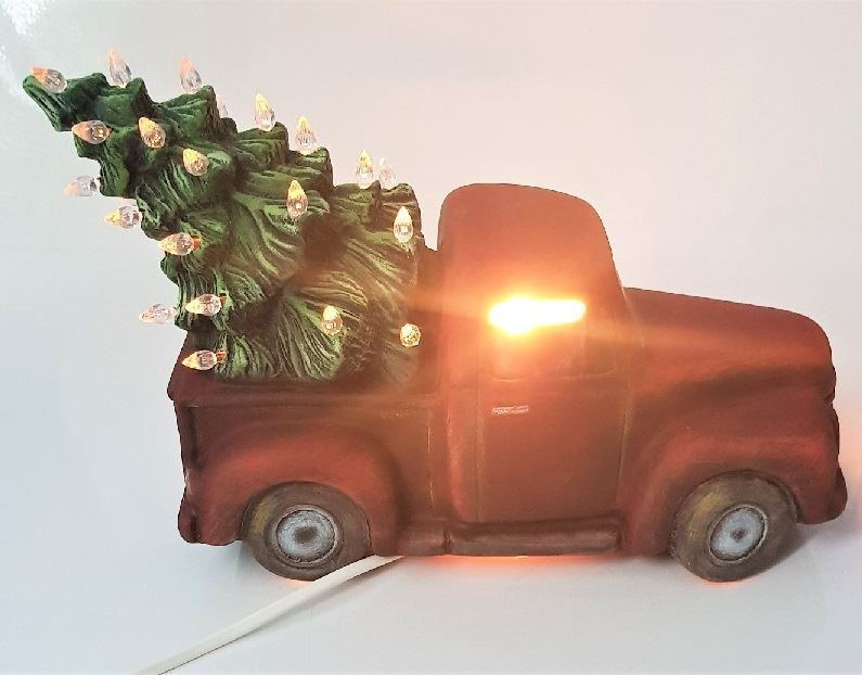 Vintage Truck with Twist Lights