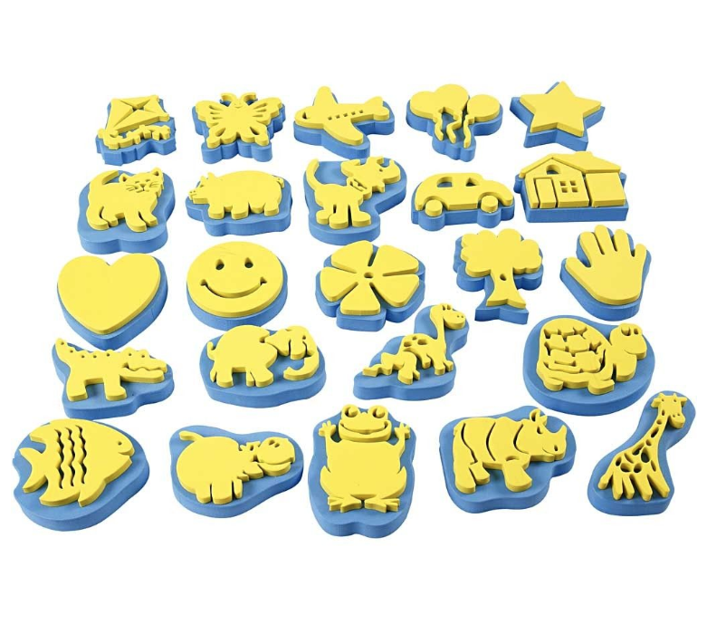 CH95250 Everyday Stamp Set Foam Stamps for Arts and Crafts