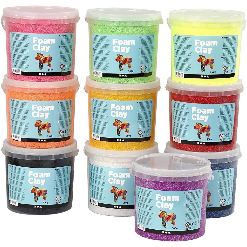 CH78830 Foam Clay Asssorted Pack