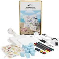 CH97066 DIY Summer Fun Fabric Painting Kit