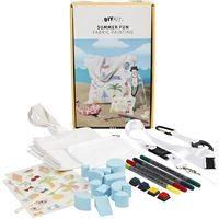 CH97066 DIY Summer Fun Fabric Painting Kit
