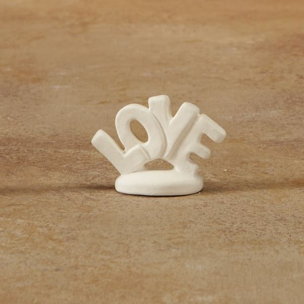 5218 Love Word Tiny Topper