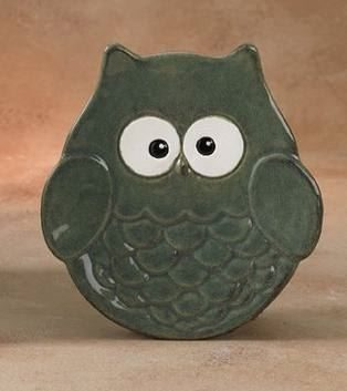 1059 Owl Plate (finished)