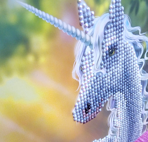 Sunshine Unicorn- Crystal Art Card 5D Diamond Painting Kit