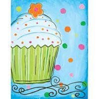 Delicious Cupcake- Canvas Design Pattern Pack