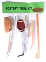 CH6051B Potters Throwing Tool Kit 8 Pack