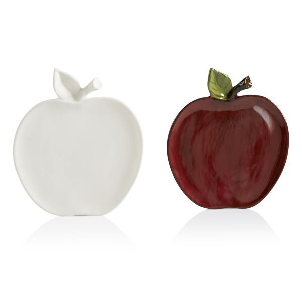 1079 Apple Plate (red)