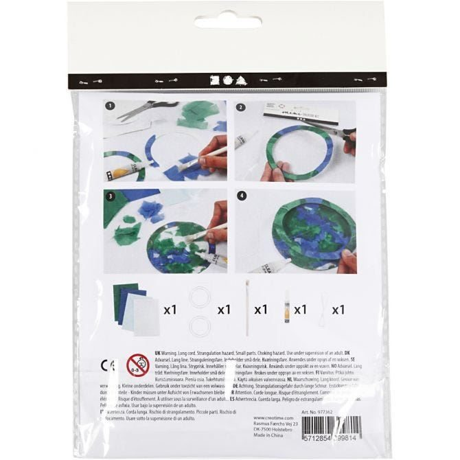 CH977362 Mini Creative Craft Kit - Sun Catcher reverse
