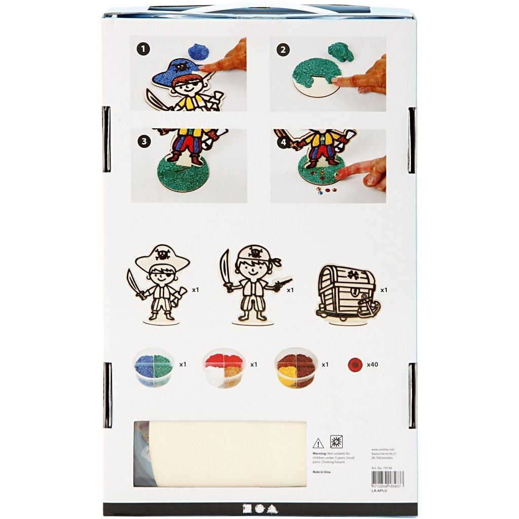 CH79196 Pirate Themed Wooden Set (3 Assorted)2