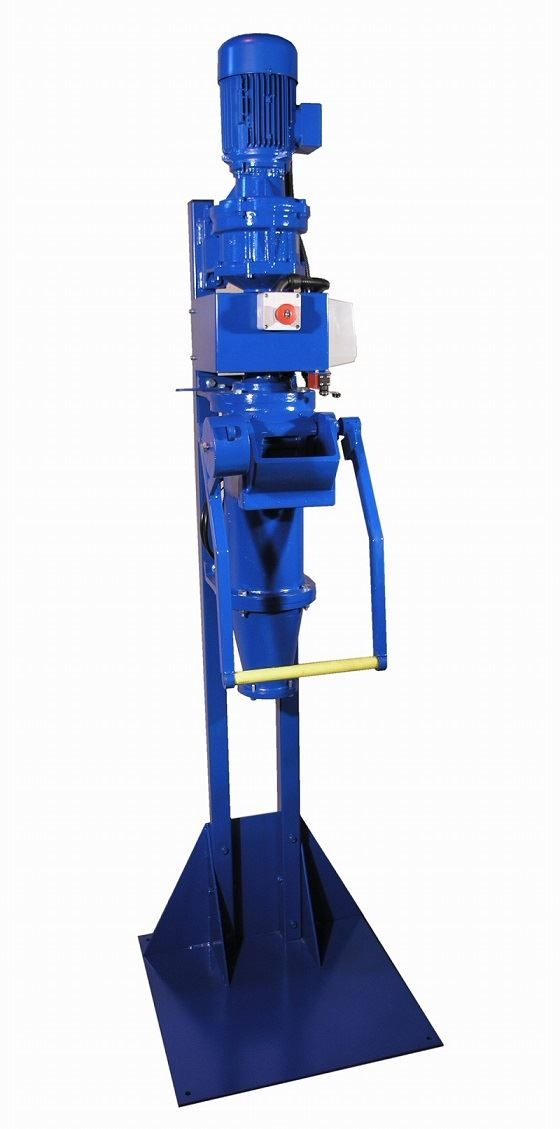 """Vertical 3"""" Outlet Pugmill 3/4 HP"""