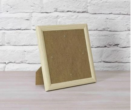 Wood Effect Frame 21 x 21cm for Crystal Art Card