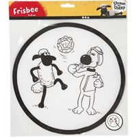 CH474314 Frisbee with design for decorating 25cm