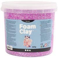 780840 Purple Glitter Fom Clay