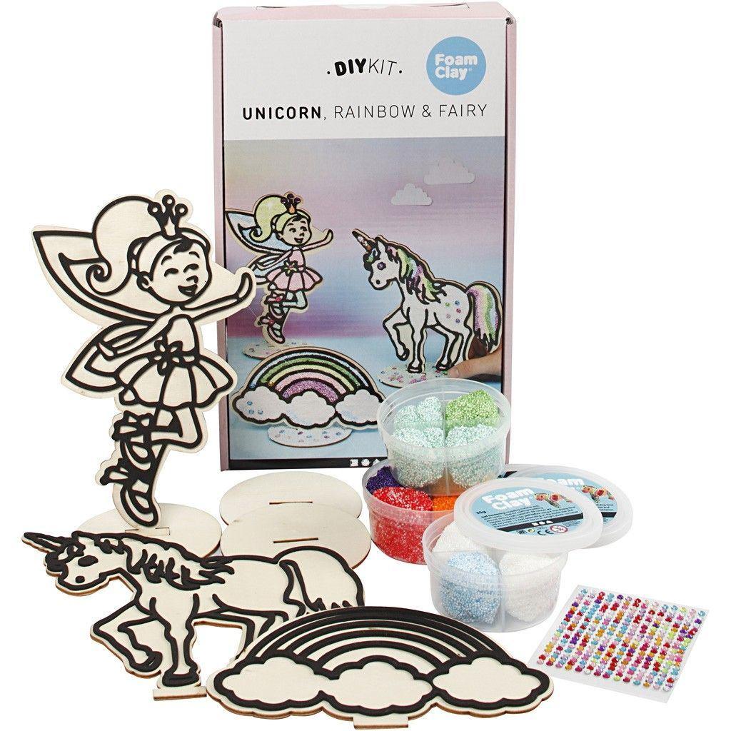 CH79197 Unicorn Themed Wooden Set (3 asstd)