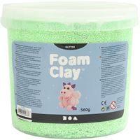 CH780830 Green Glitter Foam Clay