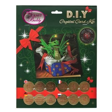 CCK-XM34 Dragon Gift Crystal Art Card Kit pack