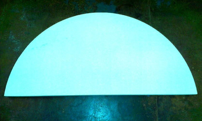 "21 x 5/8"" Half Kiln Shelf (533mm x 16mm)"
