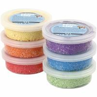 Foam Clay (Basic Colour) 6 Assorted Pots 14g