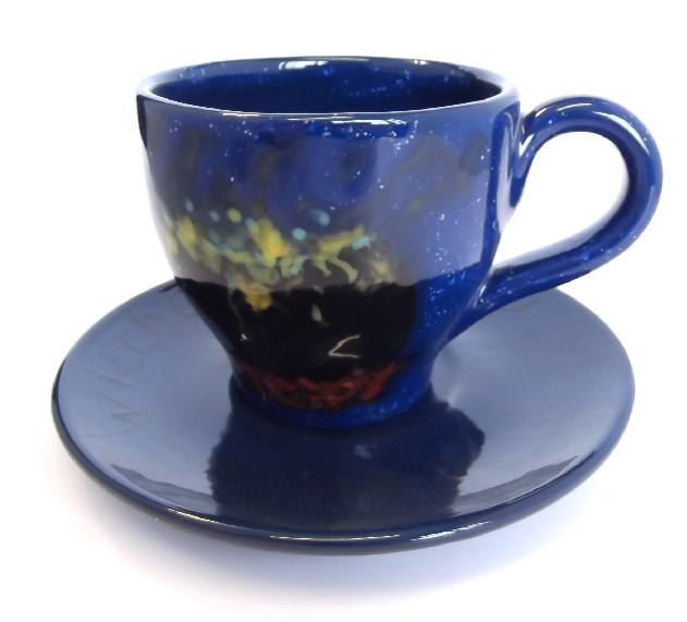 4037 tapered tea cup and saucer