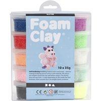 CH78890 Foam Clay Glitter Pack 10 x 35g