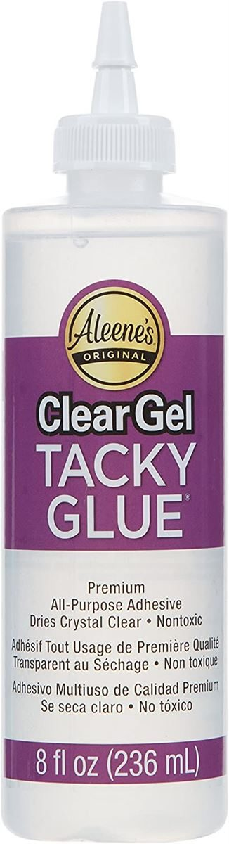 I Love To Create Aleene's Clear Gel Tacky Glue-8 oz