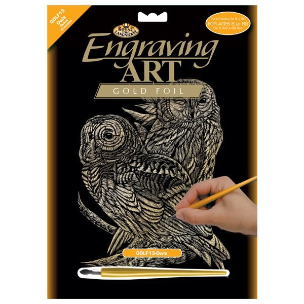 GOLF13-Owls Gold Engraving Kit outer