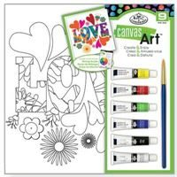 Love - Paint Your Own Canvas Art (with Acrylic Paints)