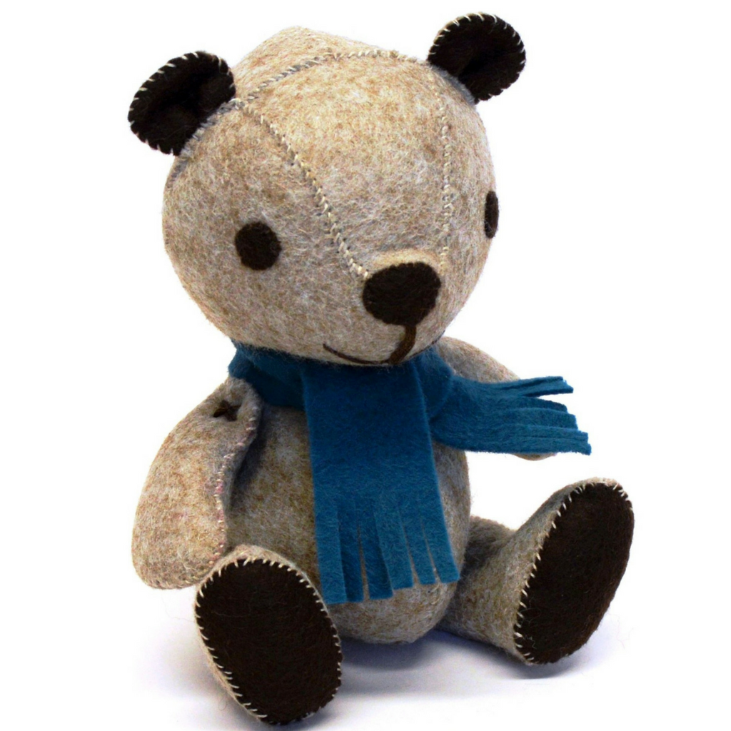 Vintage Teddy Felt Craft Kit