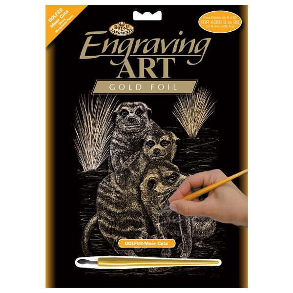 GOLF22-Meer Kats Gold Engraving Kit outer