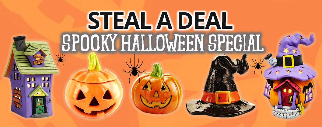 Steal a Deal Halloween Special banner
