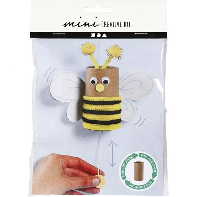 CH977435 Mini Creative Kit - Toilet Roll Bouncing Bee, front