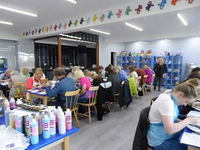 Ceramic Training at Cromartie