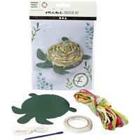 CH977365 Mini Creative Craft Kit - Turtle, front and contents