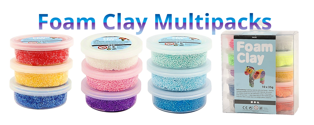 Foam Clay Multipacks