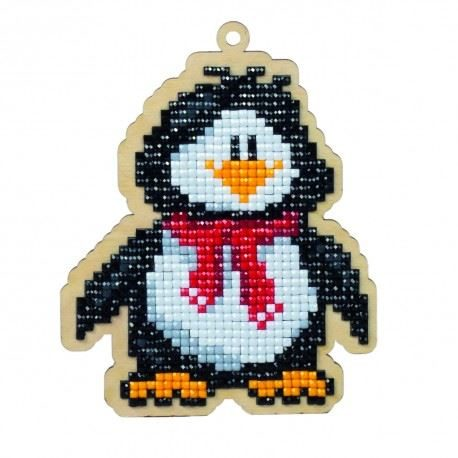 Penguin Willie - 5D Diamond Art Painting Kit