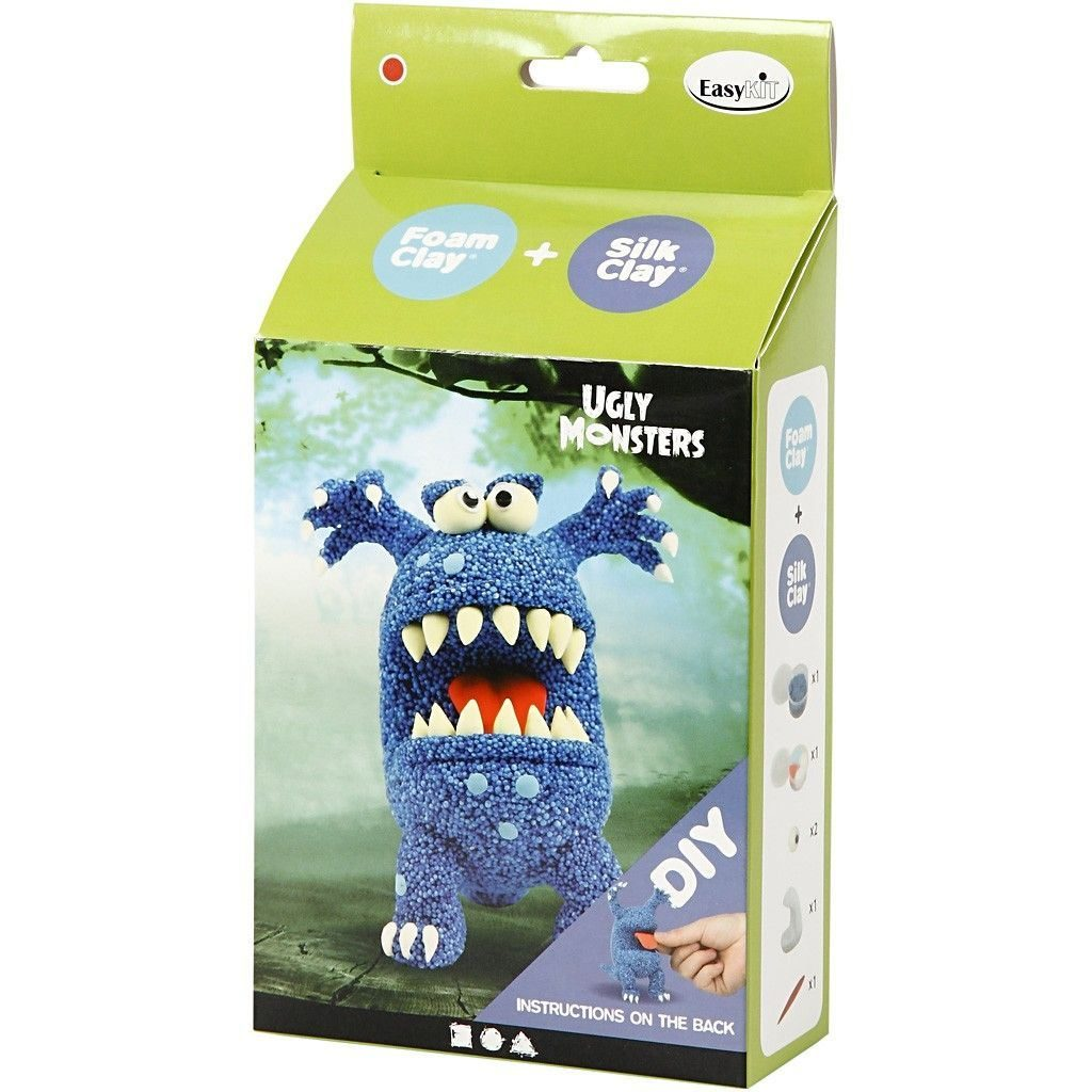 Ugly Monster Foam Clay Kit 100615 (2)