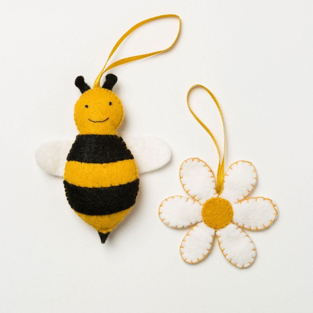 Bee and Flower Felt Craft Kit