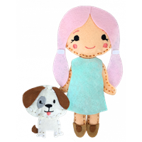 CKC-SK-112 Sew Your Own Puppy & Doll